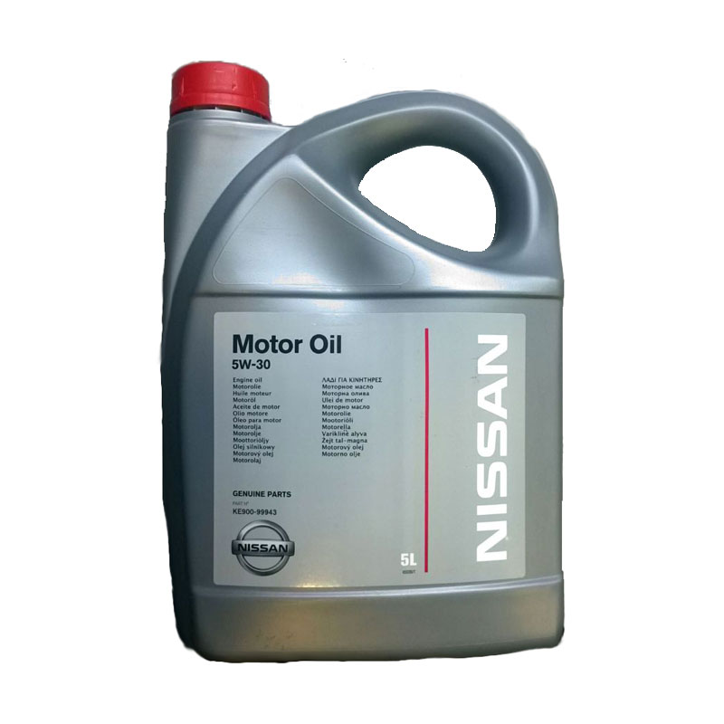 Nissan motor oil 5w30 5 for 5 30 motor oil